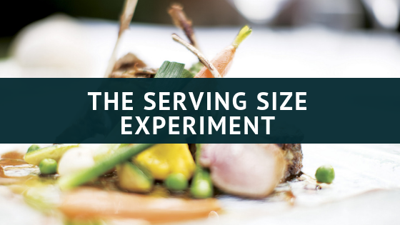 The Serving Size Experiment