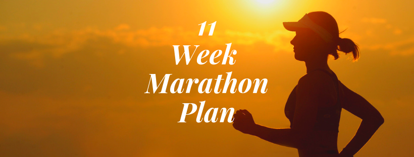 11 Week Marathon Plan